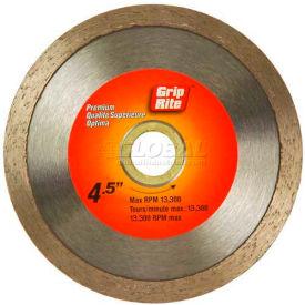 "Grip-Rite Premium Tile Diamond Saw Blade 4.5"" Dia. 7mm Rim Package Count 5"