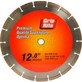 "Grip-Rite Premium Segmented Diamond Saw Blade 12"" Dia. 10mm Rim"