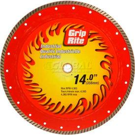 "Grip-Rite Industrial Turbo Diamond Saw Blade 14"" Dia. 10mm Rim"