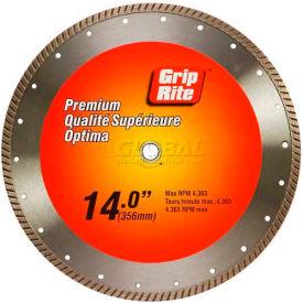 """Grip-Rite Premium Turbo Diamond Saw Blade 14"""" Dia. 10mm Rim"""