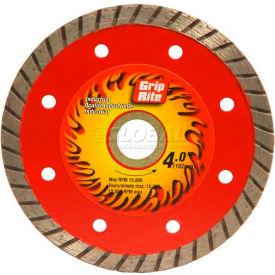 "Grip-Rite Industrial Turbo Diamond Saw Blade 4"" Dia. 7mm Rim Package Count..."