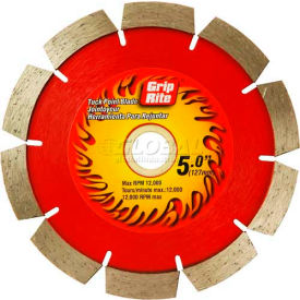 "Grip-Rite Industrial Tuck Point Diamond Saw Blade 4"" Dia. 10mm Rim Package..."