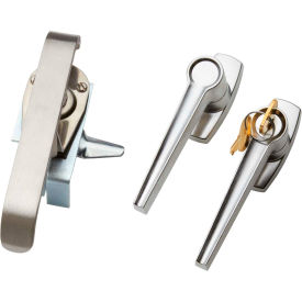 Hoffman AL36CR, 3-Point Latch Kit, A= 36, 42 or 48, Padlock, Cw Or Ccw, SS,