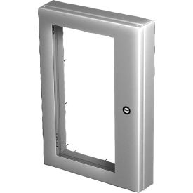 Hoffman AWDH2430N4, Deep-Hinged Window Kit, 22.19 x 26.14, Steel/Gray