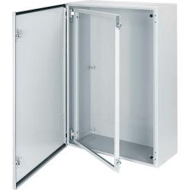 Hoffman CSF3624, Swing-Out Rack Frame, 18U, Fits 36.00x24.00, Steel/Gray