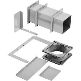 Hoffman F66WX, Cut-Off Ftg, 6.00x6.00, Steel/Gray