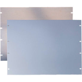Hoffman P24RP5UA, Rack Mtg Panel, 24in, 5 RU, Alum. 6061T6