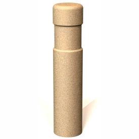 """Petersen Manufacturing BAT36 Round Concrete Bollard, 8"""" Dia X 36"""" H, Type B Mount, Sand"""