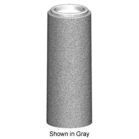 "Petersen Round Cigarette Urn w/ Aluminum Bowl - 11-1/2"" Tan - CSR-30 Sand Tan"