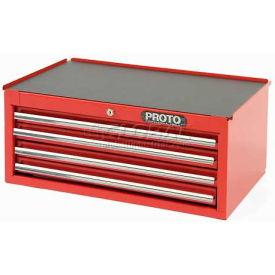 """Proto J442710-4RD-IC 440SS Intermediate Chest - 4 Drawer Red 27""""L X 10""""H X 18""""D"""