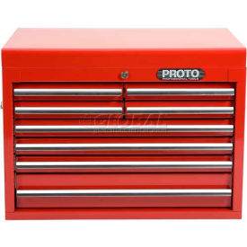 "Proto J542719-8RD 540S Series 27""W X 18""D X 19""H 8 Drawer Red Top Chest"