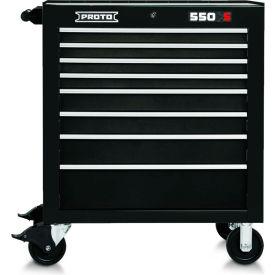 "Proto® 450HS 34"" Roller Cabinet - 8 Drawer, Black, 34""L X 41""H X 25""D"