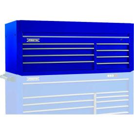 "Proto J556627-8BL 550S Series 66""W X 27""D X 27""H 8 Drawer Blue Top Chest"