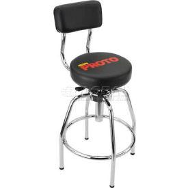 stools vinyl upholstered proto heavy duty shop stool