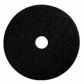 "Boss Cleaning Equipment 16"" Black-Strip Pad - Pkg Qty 5"