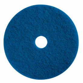 "Boss Cleaning Equipment 22"" Blue Pad - Pkg Qty 5"