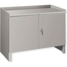 """Heavy Duty Cabinet Shop Bench - 36""""W x 19""""D Gray"""