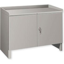 """Heavy Duty Cabinet Shop Bench - 48""""W x 19""""D Gray"""