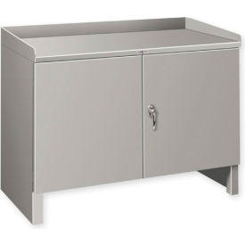 """Heavy Duty Cabinet Shop Bench - 36""""W x 25""""D Gray"""