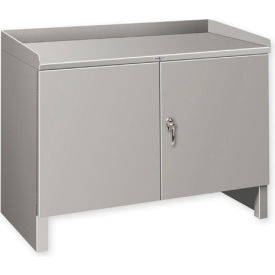 """Heavy Duty Cabinet Shop Bench - 48""""W x 25""""D Gray"""