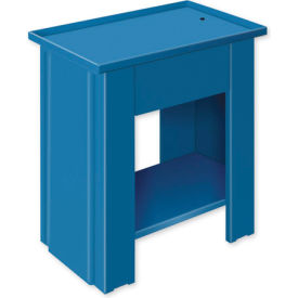 "Drain Top Repair Bench - 28""W x 20""D x 35""H Blue"