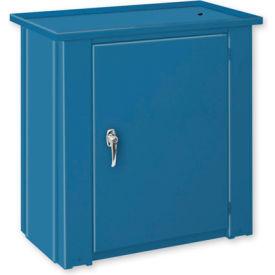 """Drain Top Repair Bench w/ Cabinet - 28""""W x 20""""D x 30""""H Blue"""