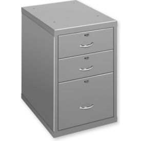 3 Drawer Cabinet Black