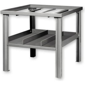Gas Welding Bench w/ Center Drawer Gray