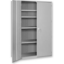 """Extra Heavy Duty Storage Cabinet - 48""""W x 24""""D x 84""""H Gray"""