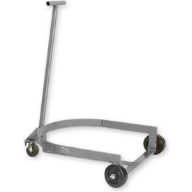 Pucel™ LBR-909 Low Drum Dolly Truck - Gray