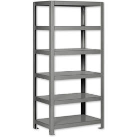 """Pucel - All Welded Steel Shelving - 36""""W x 24""""D Putty"""