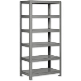 "Pucel - All Welded Steel Shelving - 48""W x 24""D Putty"