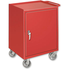 Mobile Drawer Bench - 1 Cabinet Gray