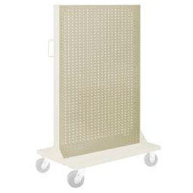"""Pucel Pegboard Panel 36"""" x 61"""" for Portable Bin Cart Putty"""