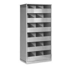 Steel Storage Bin Cabinet without Door - Gray