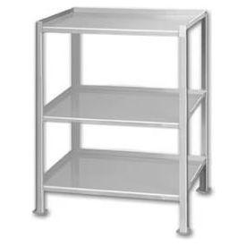 Pucel™ TU-1323-3 Shop Stand 3 Shelves Foot Pads 23 x 13