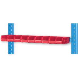 "Pucel 1"" Vertical Hanger Bar VHB-32-1 for Portable Bin Cart Blue"