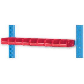 "Pucel 5"" Vertical Hanger Bar VHB-32-5 for Portable Bin Cart Gray"