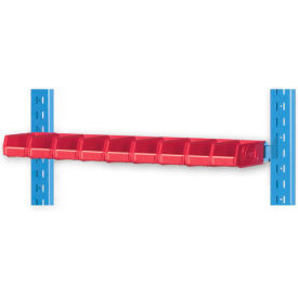 "Pucel 5"" Vertical Hanger Bar VHB-32-5 for Portable Bin Cart Blue"