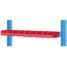 """Pucel 8"""" Vertical Hanger Bar VHB-32-8 for Portable Bin Cart Putty"""