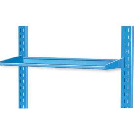 "Pucel 12"" Flat Shelf VS-32-12 for Portable Bin Cart Gray"