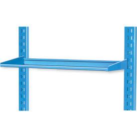 "Pucel 12"" Flat Shelf VS-32-12 for Portable Bin Cart Blue"