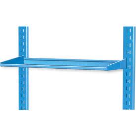 "Pucel 8"" Flat Shelf VS-32-8 for Portable Bin Cart Blue"