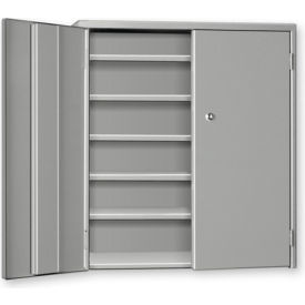"""Pucel Wall & Bench Cabinet WBC-2621 - 26-1/2""""W x 9""""D x  21""""H, Putty"""