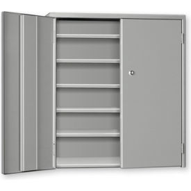 """Pucel Wall & Bench Cabinet WBC-2630 - 26-1/2""""W x 9""""D x  30""""H, Gray"""