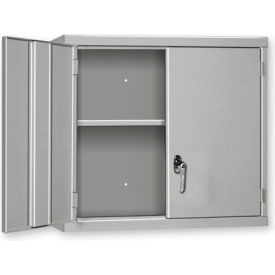 """Pucel Wall Cabinet WC-3027  - 30""""W x 14""""D x 27""""H, Gray"""