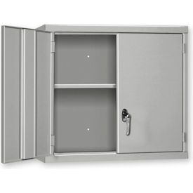 """Pucel Wall Cabinet WC-3027  - 30""""W x 14""""D x 27""""H, Putty"""