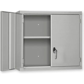 """Pucel Wall Cabinet WC-3627  - 36""""W x 14""""D x 27""""H, Gray"""