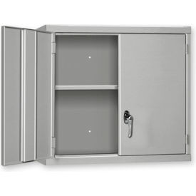 """Pucel Wall Cabinet WC-3627  - 36""""W x 14""""D x 27""""H, Putty"""