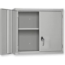 """Pucel Wall Cabinet WC-4827  - 48""""W x 14""""D x 27""""H, Black"""